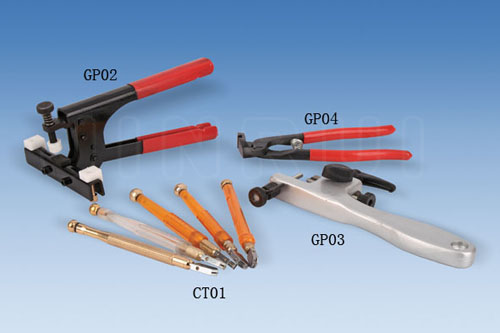 Glass cutter & Glass plier